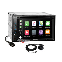 Load image into Gallery viewer, Pioneer DVD Carplay Sirius Stereo Dash Kit Harness for 04+ Nissan Armada Titan