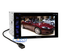 "Load image into Gallery viewer, Pioneer AVH-190DVD 6.2"" Touchscreen Double Din Car Radio MP3 DVD Audio Receiver"