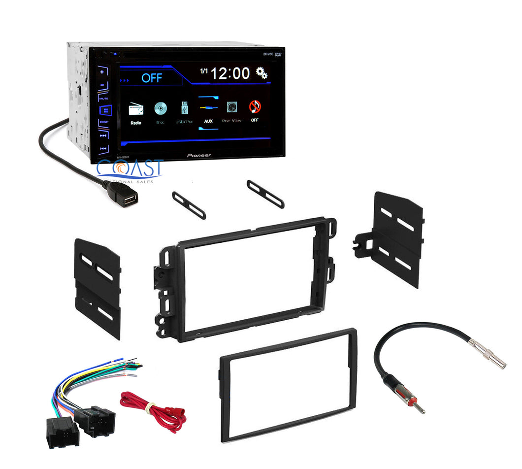 Pioneer Radio Stereo Dash Kit Harness for 2006-2010 Buick Chevrolet GMC Saturn