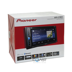Pioneer 2018 Bluetooth Stereo 2Din Dash Kit Harness for 2010-13 Toyota 4 Runner