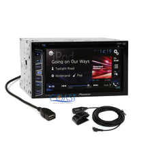 Load image into Gallery viewer, Pioneer 2016 Stereo Double DIN Dash Kit Harness Antenna for 07-11 Nissan Altima