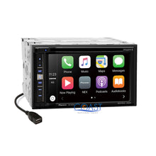 Load image into Gallery viewer, Pioneer GPS Sirius Carplay Stereo Sil Dash Kit Harness for 05-07 Chrysler 300