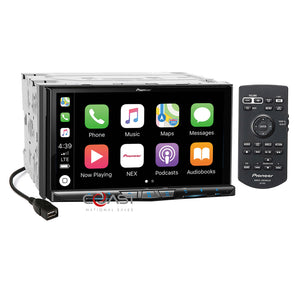 "Pioneer 7""DVD Wifi Carplay GPS Stereo Dash Kit Harness for 10-13 Toyota 4Runner"