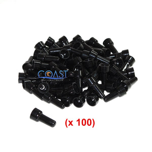 High Quality Black Closed End Crimp Cap Wire Connectors 16/14 BCC1614 - 100 PCS