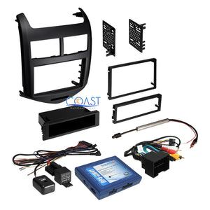 Car Radio Stereo Double Din Dash Kit Wire Harness for 2012-2013 Chevrolet Sonic