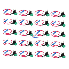 Load image into Gallery viewer, 30A Add-A-Circuit Mini Blade Fuse Holder ACS ATO ATC For Car Truck US - 20 pcs