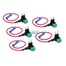 Load image into Gallery viewer, 30A Add-A-Circuit Mini Blade Fuse Holder ACS ATO ATC For Car Truck US - 5 pcs