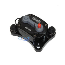 Load image into Gallery viewer, Car Stereo Inline 12V 250A Power Circuit Breaker w/Manual Reset & LED Indicator