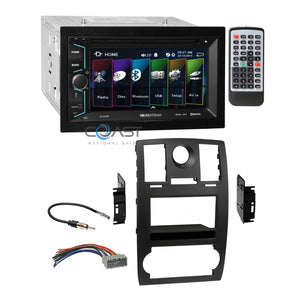 Soundstream DVD Bluetooth SD Playback Dash Kit Harness for 2005-07 Chrysler 300