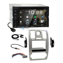 Load image into Gallery viewer, Kenwood DVD Sirius Spotify Stereo Sil Dash Kit Harness for 2005-07 Chrysler 300