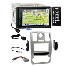 Load image into Gallery viewer, Soundstream GPS Bluetooth Stereo Sil Dash Kit Harness for 2005-07 Chrysler 300