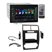 Load image into Gallery viewer, Soundstream 2018 DVD Bluetooth Radio Dash Kit Harness for Dodge Magnum Charger