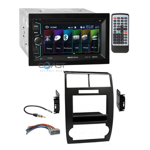 Soundstream 2018 DVD Bluetooth Radio Dash Kit Harness for Dodge Magnum Charger