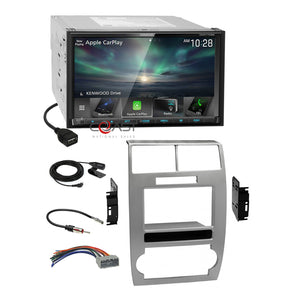 Kenwood Carplay Android Stereo Dash Kit Harness for 05-07 Dodge Magnum Charger