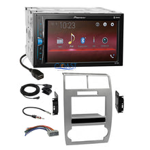 Load image into Gallery viewer, Pioneer USB Multimedia Stereo Silver Dash Kit Harness for Dodge Magnum Charger