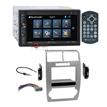 Load image into Gallery viewer, Planet Audio Mirror Bluetooth Stereo Dash Kit Harness for Dodge Magnum Charger
