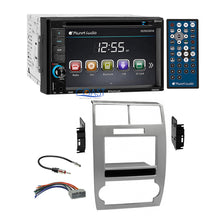 Load image into Gallery viewer, Planet Audio DVD Bluetooth Silver Dash Kit Harness for Dodge Magnum Charger
