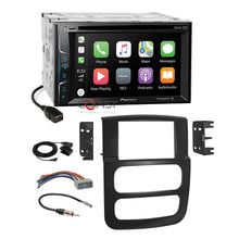 Load image into Gallery viewer, Pioneer DVD BT USB Sirius Carplay Stereo Dash Kit Harness for 02-05 Dodge Ram