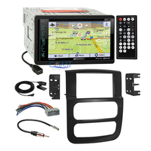Load image into Gallery viewer, Soundstream DVD GPS Bluetooth Stereo Dash Kit Wire Harness for 02-05 Dodge Ram