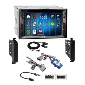 JVC 2018 DVD Stereo Dash Kit Amp Harness for 11-13 Gr. Cherokee Dodge Durango