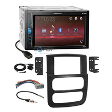 Load image into Gallery viewer, Pioneer 2018 USB Bluetooth Stereo Dash Kit Harness for 2002-05 Dodge Ram Truck