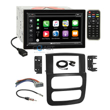 Load image into Gallery viewer, Soundstream 2018 DVD Carplay Stereo Dash Kit Harness for 02-05 Dodge Ram Truck