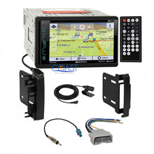 Load image into Gallery viewer, Soundstream Bluetooth GPS Stereo Dash Kit Harness for 07-14 Chrysler Dodge Jeep