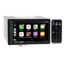 Load image into Gallery viewer, Power Acoustik DVD USB Carplay Stereo Dash Kit Harness for 03-08 Toyota Corolla