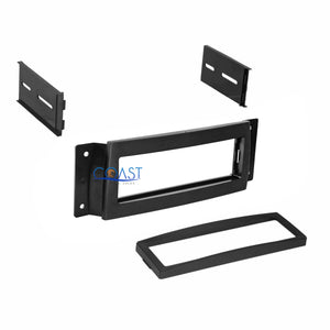Car Radio Stereo Single DIN Dash Kit Trim Bezel for 2004-2008 Chrysler Pacifica