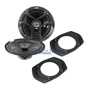 "JVC 6.5"" Speaker + 2 Front Rear Speaker Adapter SA68 for GMC Chevrolet Cadillac"
