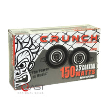 "Load image into Gallery viewer, Crunch Car Audio Pro Flush 3.5"" 150W 2-Way Coaxial Speaker CS35CX - Pair"