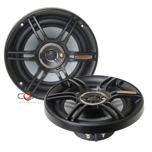 "Crunch Car Audio Pro Flush 6.5"" 300W 2-Way Coaxial Speaker CS65CXS - Pair"