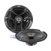"Load image into Gallery viewer, JVC 6.5"" Car Speaker + 2 Front Rear Speaker Adapters for GMC Chevrolet Cadillac"