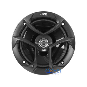 "JVC 6.5"" Car Speaker + 2 Front Rear Speaker Adapters for GMC Chevrolet Cadillac"