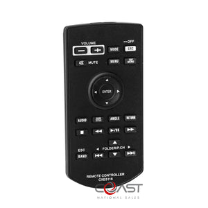 Car Radio Stereo Replacement Remote Control for Select Pioneer Headunit CXE5116
