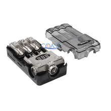 Load image into Gallery viewer, Car Stereo Platinum Distribution Block (3) 2/4 In & (3) 4/8 Ga Out w/Adapters