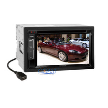 Load image into Gallery viewer, Kenwood DVD SiriusXm Bluetooth 2Din Dash Kit Harness for 2005-2007 Chrysler 300