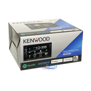 Kenwood DVD Sirius Bluetooth Stereo Dash Kit Harness for 2005-07 Honda Odyssey