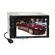Load image into Gallery viewer, Kenwood DVD USB Sirius Stereo Dash Kit Amp Harness for 98+ Ford Lincoln Mercury