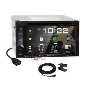 JVC USB Sirius Carplay Android Stereo Dash Kit Harness for 05-11 Toyota Tacoma