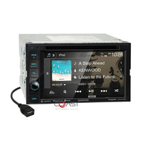 Load image into Gallery viewer, Kenwood DVD Sirius Maestro Stereo Dash Kit Harness for 2002-05 Dodge Ram Truck