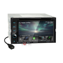 Load image into Gallery viewer, Kenwood DVD Spotify Sirius Carplay Stereo Dash Kit Harness for 2006-10 Mazda 5