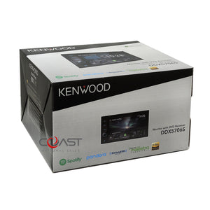 Kenwood DVD Sirius Carplay Stereo Gry Dash Kit SWC Harness for 06+ Honda Civic