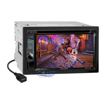 Load image into Gallery viewer, Kenwood DVD Sirius Waze Bluetooth Stereo Dash Kit Harness for 06-08 Dodge Ram