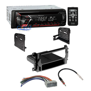Pioneer Car Radio Mixtrack 1 Din Dash Kit Harness for 04-08 Chrysler Dodge Jeep