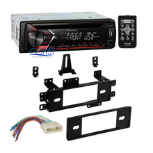Load image into Gallery viewer, Pioneer Car Radio Mixtrack Single Din Dash Kit Harness for 88-96 Jeep Wrangler