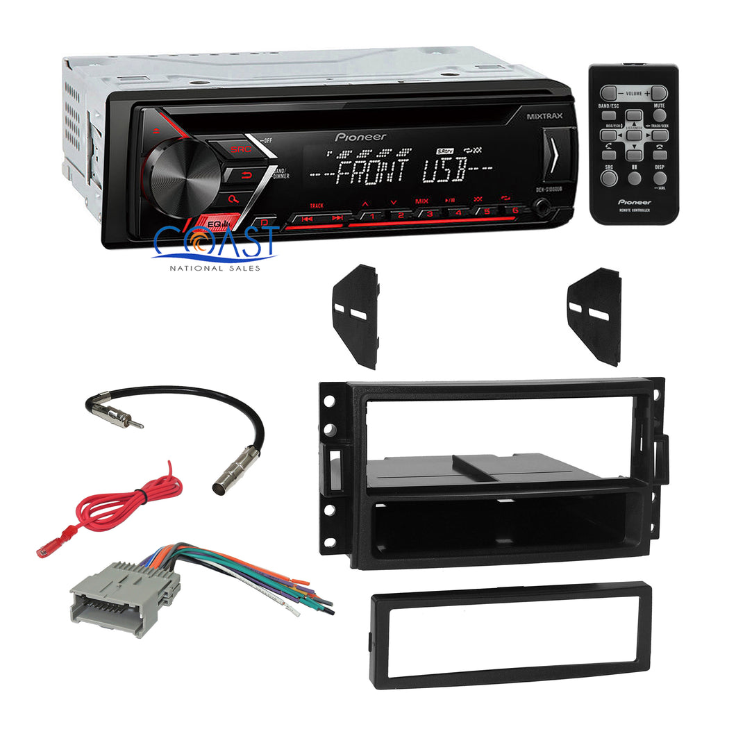 Pioneer Car Radio Mixtrack Dash Kit Harness for 05+ Chevrolet Hummer Pontiac