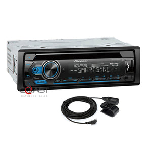 Pioneer CD USB Mp3 Bluetooth Multimedia Stereo Receiver with Smart Sync Support