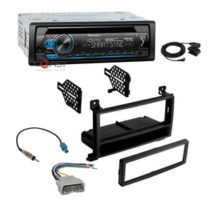 Pioneer Radio Smart Sync Bluetooth Dash Kit Harness for Select 11-13 Dodge Jeep