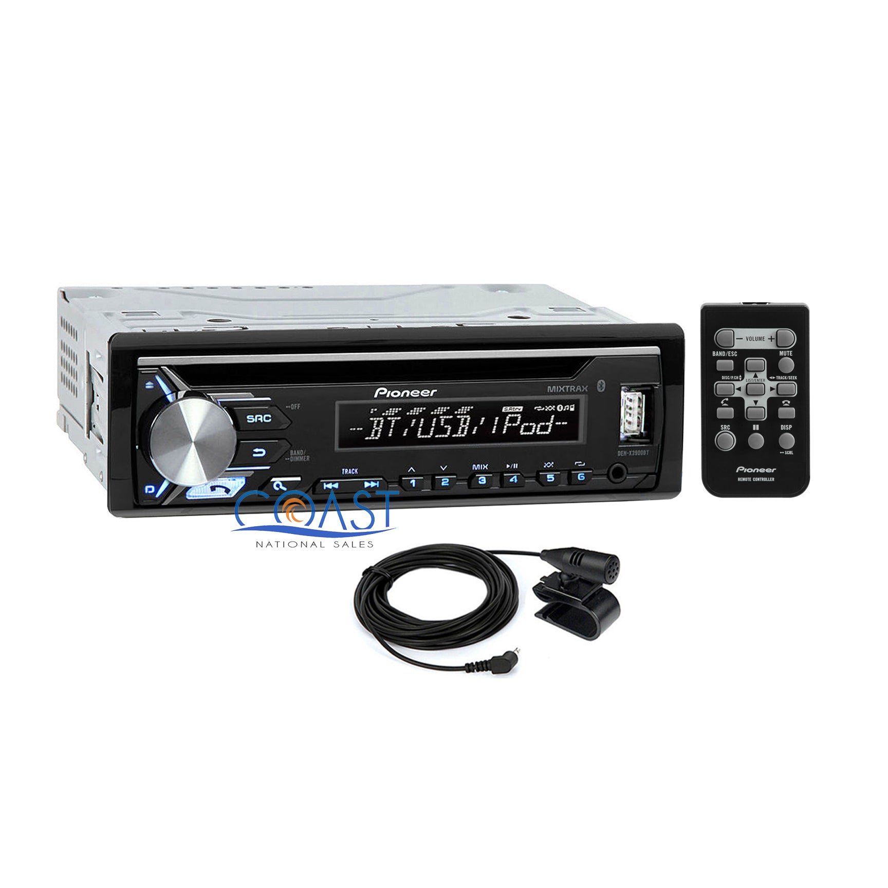 Pioneer Car Radio Stereo w// Dash Kit Harness for 1995-up Ford Lincoln Mercury